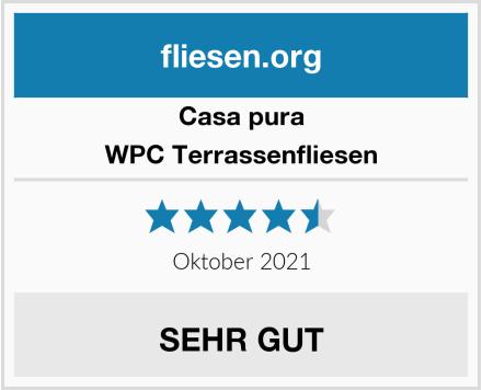 Casa Pura WPC Terrassenfliesen Test