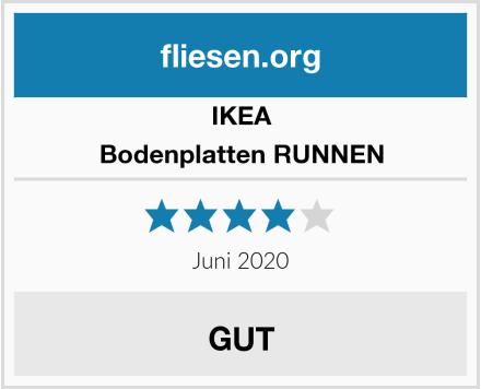 IKEA Bodenplatten RUNNEN Test