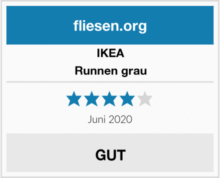 IKEA Runnen grau Test
