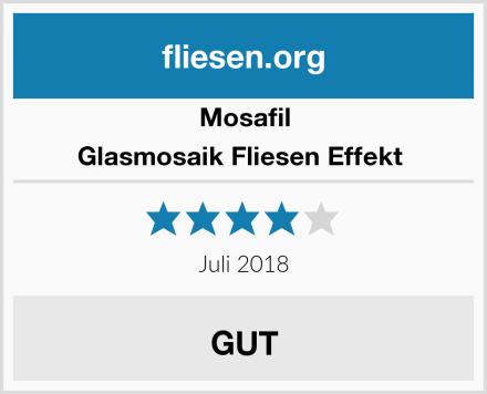 Mosafil Glasmosaik Fliesen Effekt  Test