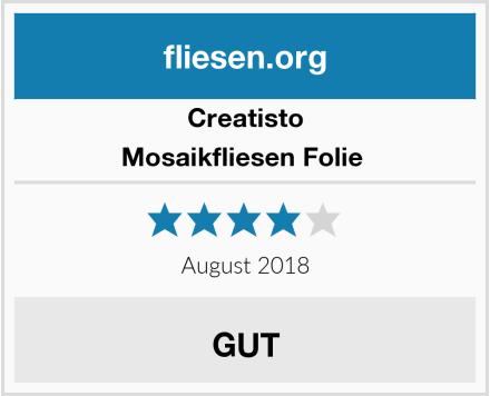 creatisto Mosaikfliesen Folie  Test