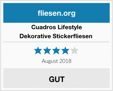 Cuadros Lifestyle Dekorative Stickerfliesen  Test