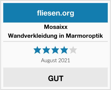 Mosaixx Wandverkleidung in Marmoroptik Test
