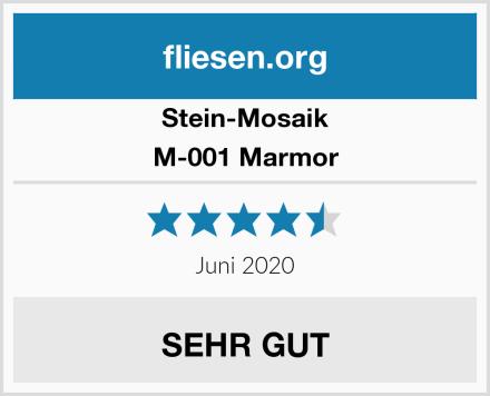 Stein-Mosaik M-001 Marmor Test