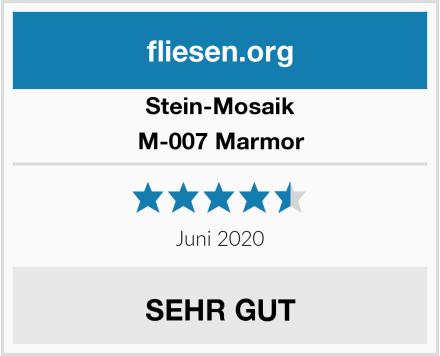 Stein-Mosaik M-007 Marmor Test