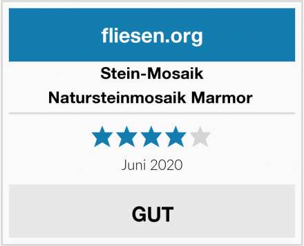 Stein-Mosaik Natursteinmosaik Marmor  Test