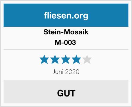 Stein-Mosaik M-003  Test