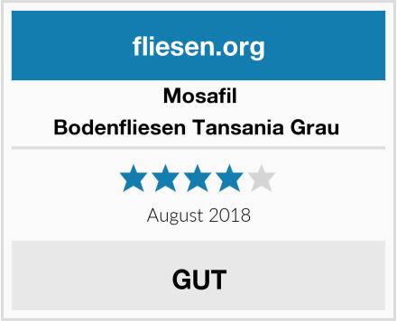 Mosafil Bodenfliesen Tansania Grau  Test