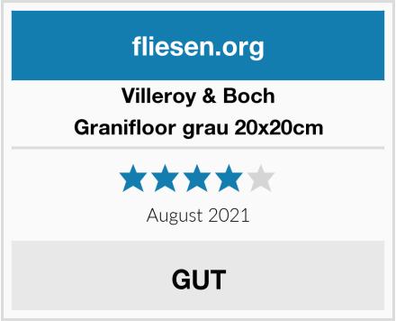 Villeroy & Boch Granifloor grau 20x20cm Test