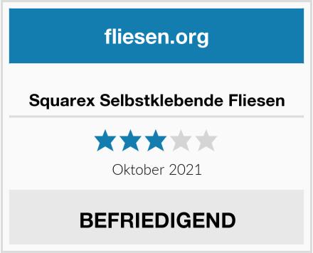 no name Squarex Selbstklebende Fliesen Test