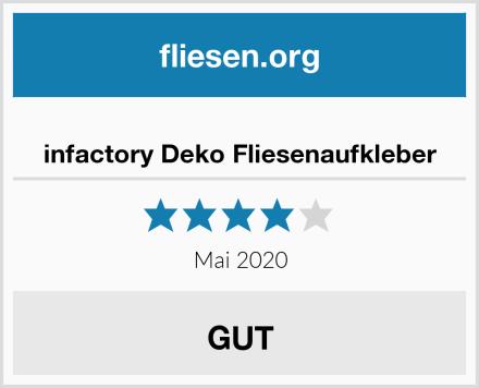 infactory Deko Fliesenaufkleber Test