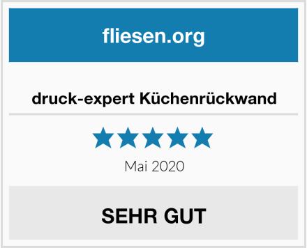 no name druck-expert Küchenrückwand Test