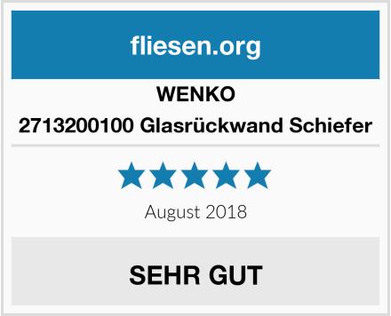 Wenko 2713200100 Glasrückwand Schiefer Test