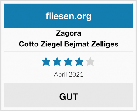 Zagora Cotto Ziegel Bejmat Zelliges Test