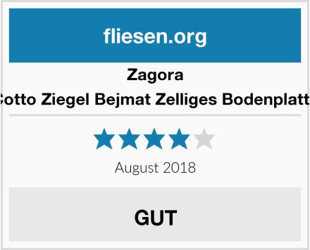 Zagora Cotto Ziegel Bejmat Zelliges Bodenplatte Test