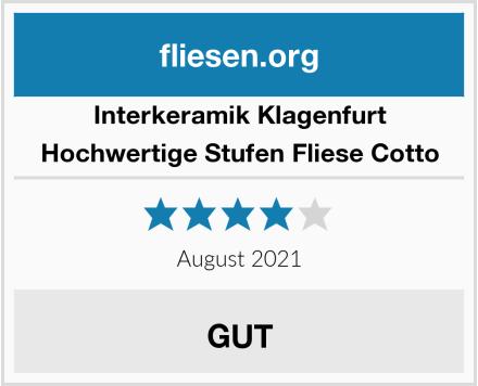 Interkeramik Klagenfurt Hochwertige Stufen Fliese Cotto Test