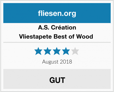A.S. Création Vliestapete Best of Wood  Test