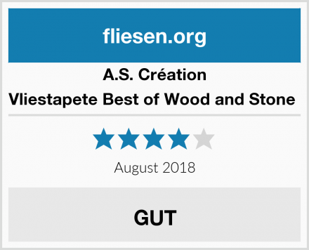 A.S. Création Vliestapete Best of Wood and Stone  Test