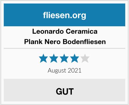 Leonardo Ceramica Plank Nero Bodenfliesen Test