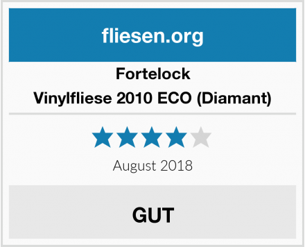 Fortelock Vinylfliese 2010 ECO (Diamant) Test