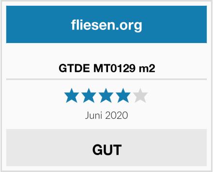 GTDE MT0129 m2 Test