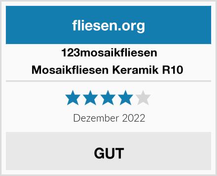 123mosaikfliesen Mosaikfliesen Keramik R10  Test