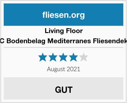 Living Floor PVC Bodenbelag Mediterranes Fliesendekor  Test