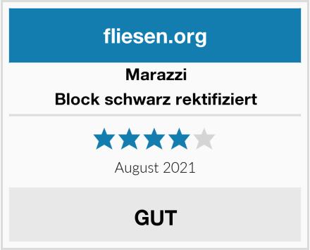 Marazzi Block schwarz rektifiziert Test