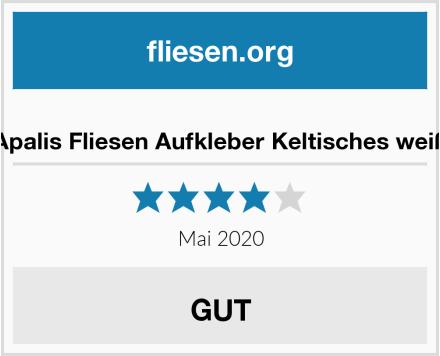 no name Apalis Fliesen Aufkleber Keltisches weiß Test