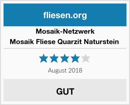 Mosaik-Netzwerk Mosaik Fliese Quarzit Naturstein  Test