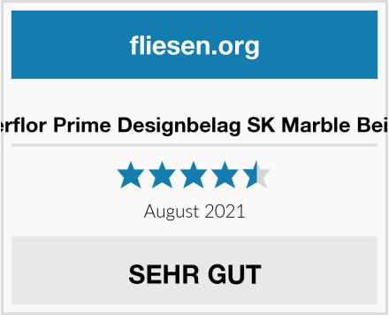 no name Gerflor Prime Designbelag SK Marble Beige Test