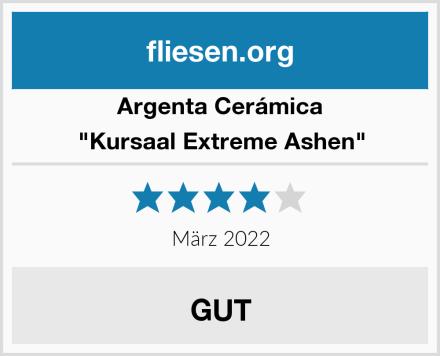 """Argenta Cerámica """"Kursaal Extreme Ashen"""" Test"""