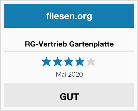 RG-Vertrieb Gartenplatte Test