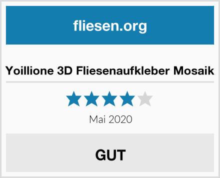 Yoillione 3D Fliesenaufkleber Mosaik Test