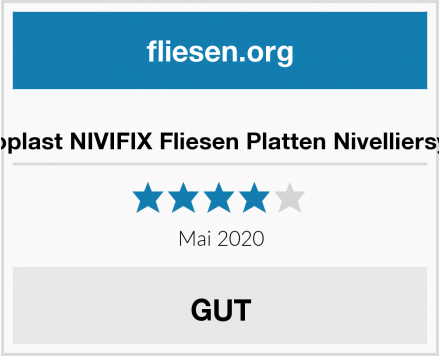 Brunoplast NIVIFIX Fliesen Platten Nivelliersystem Test