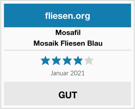 Mosafil Mosaik Fliesen Blau Test
