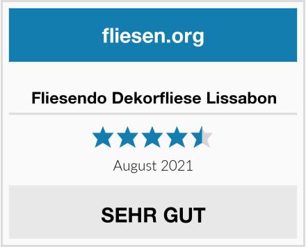 Fliesendo Dekorfliese Lissabon Test