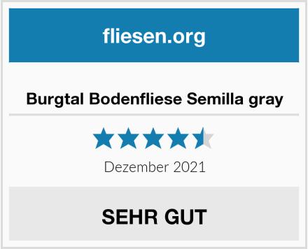 Burgtal Bodenfliese Semilla gray Test