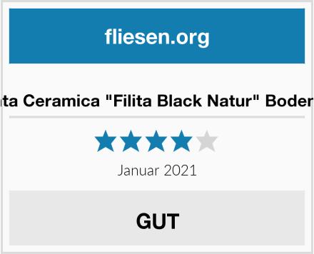"""Argenta Ceramica """"Filita Black Natur"""" Bodenfliese Test"""