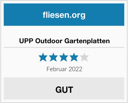 UPP Outdoor Gartenplatten Test