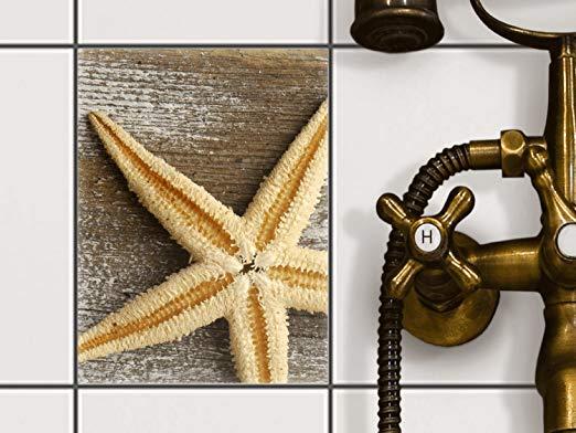 creatisto Fliesen-Folie Motiv Starfish