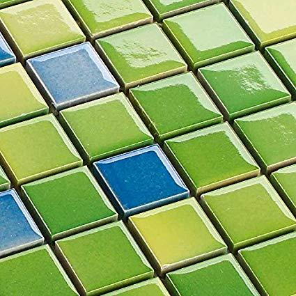 hardys Keramik Mosaik Fliesen Grün Mix