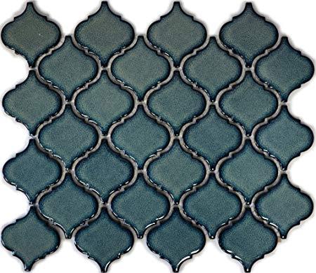 Mosaik-Netzwerk Retro Vintage Mosaik Flies
