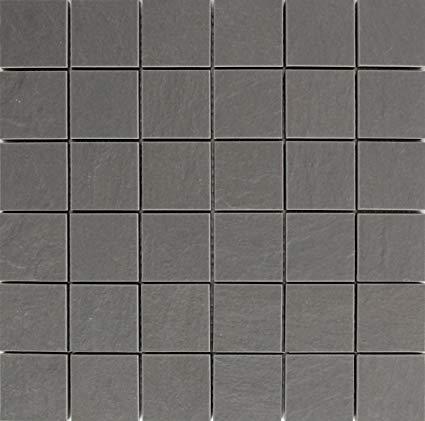 no name Mosaik Canton grau matt