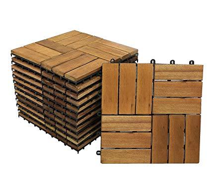 Sam Terrassenfliese 02 aus Akazien-Holz