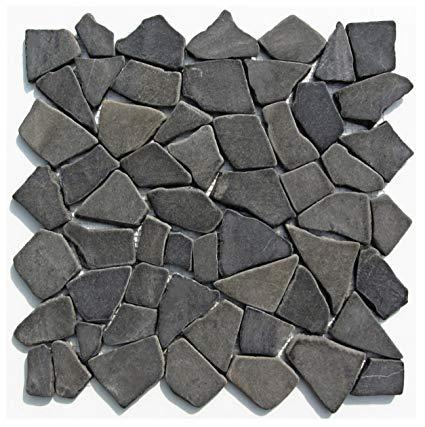 Stein-Mosaik M-001 Marmor