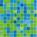 Mosaik-Netzwerk Glasmosaik