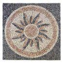 Divero Rosone Sonne 120x120cm