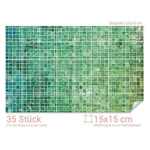 GRAZDesign Badfliesen überkleben Mosaik Muster