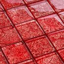 hardys Glasmosaik Rot-Effekt